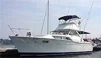 1969 Chris Craft 35' Motor Yacht for sale in the Georgian Bay area north of Toronto, Ontario, Canada.