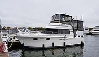 1985 CARVER 3207 AFT CABIN MOTOR YACHT FOR SALE IN THE TRENTON AREA EAST OF TORONTO, ONTARIO, CANADA SIMILAR TO THE 1984, 1986, 1987, 1988, 1989 AND 1990 MODELS