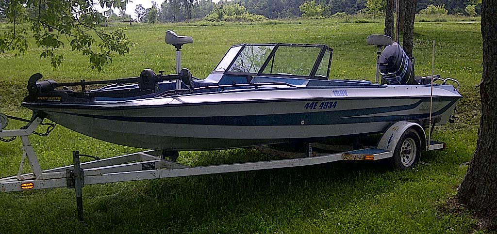 1986 STRATOS 189V BASS BOAT FOR SALE IN THE LINDSAY AREA ...