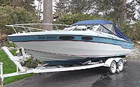 1987 Chris Craft 230 Scorpion With Trailer for sale in the Lindsay area northeast of Toronto, Ontario, Canada.