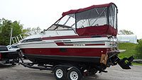 1986 Carver 2657 Montego for sale in the Lindsay area northeast of Toronto, Ontario, Canada.