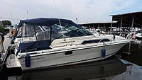 1987 Thundercraft Magnum 290 Express for sale in the Lindsay area northeast of Toronto, Ontario, Canada.