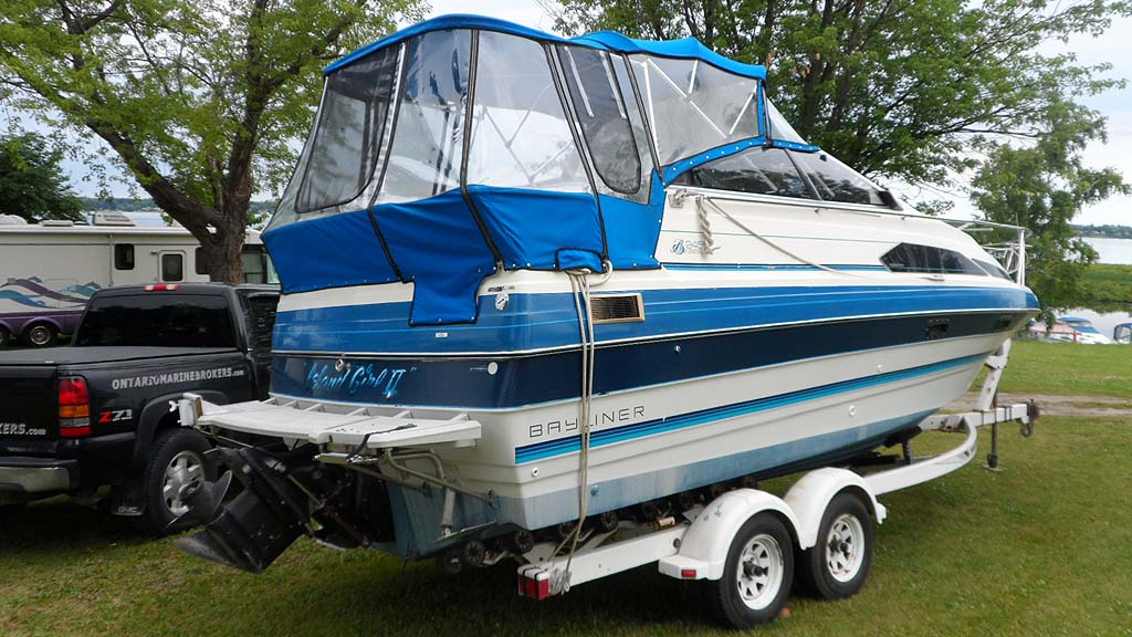 1988 Bayliner 2455 Ciera With Trailer For Sale In The