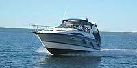 1988 BAYLINER 2655 for sale in the Lindsay area northeast of Toronto, Ontario, Canada.