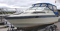 1988 Doral Tara 22' cuddy for sale in the Lindsay area northeast of Toronto, Ontario, Canada.