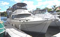 1988 Mainship 36 DC 360 Nantucket Trawler for sale in the Lindsay area northeast of Toronto, Ontario, Canada.