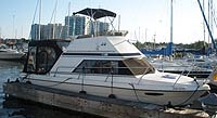 1988 COOPER YACHTS PROWLER 8 METER FLYBRIDGE for sale in the Whitby area east of Toronto, Ontario, Canada.