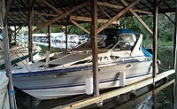 1989 BAYLINER 2955 AVANTI for sale in the Lindsay area northeast of Toronto, Ontario, Canada.