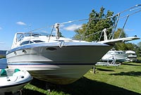 1988 BAYLINER 2955 AVANTI for sale in the Lindsay area northeast of Toronto, Ontario, Canada.
