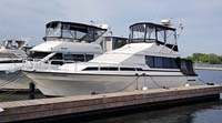 1989 MAINSHIP MEDITERRANEAN 35 FOR SALE IN THE TRENTON AREA EAST OF TORONTO, ONTARIO, CANADA.