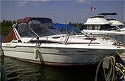 1989 Searay 300 Sundancer sold in the Lindsay east of Toronto, Ontario, Canada.