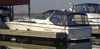 1989 Searay 390 Express sold in the Lindsay area northeast of Toronto, Ontario, Canada.