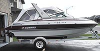 1989 SUNRAY 21' SCEPTRE CUDDY for sale in the Lindsay area northeast of Toronto, Ontario, Canada.