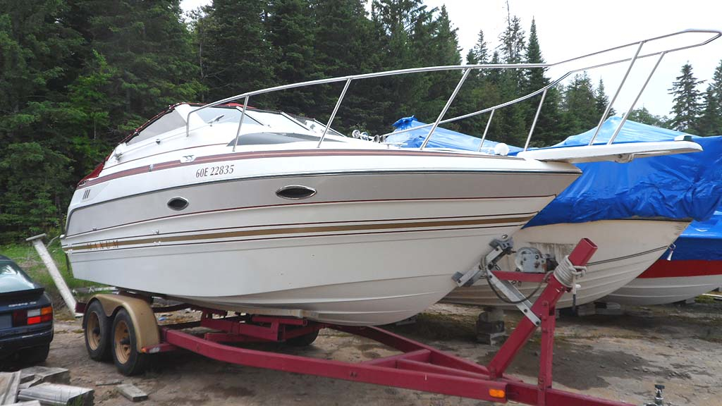 1992 Maxum 2300 Scr With Trailer For Sale In The Lindsay