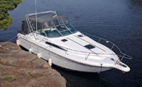 1993 Sea Ray 300 Sundancer for sale in the Trenton area east of Toronto, Ontario, Canada by Ontario boat and yacht brokers.