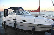 1996 Four Winns 258 sold in the Lindsay area noth east of Toronto, Ontario.