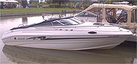 1997 MARIAH 227 CUDDY for sale in the Lindsay area northeast of Toronto, Ontario, Canada.