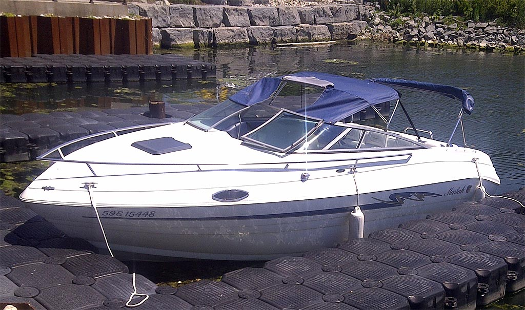 1997 Mariah 227 Cuddy Cabin Boat W Trailer For Sale In The