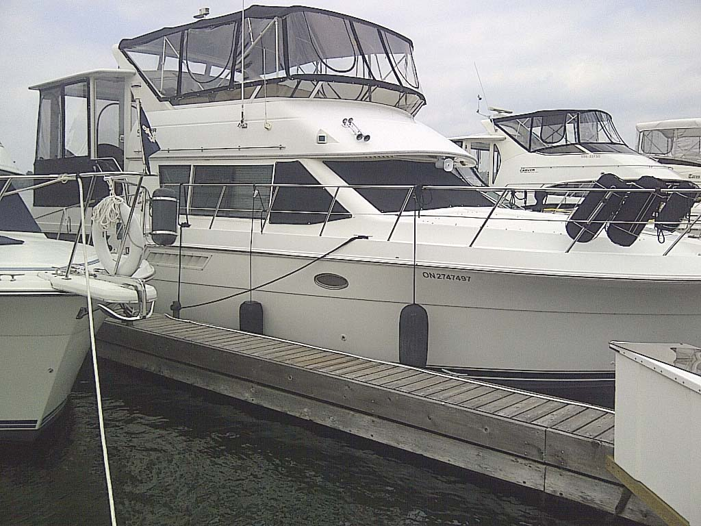 1998 Carver 405 Motoryacht For Sale In The Bobcaygeon Area