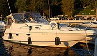 2000 Regal 2760 Commodore for sale in the Lakefield area northeast of Toronto, Ontario, Canada.