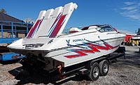 2002 FORMULA 271 FASTECH for sale in the Lakefield area northeast of Toronto, Ontario, Canada.