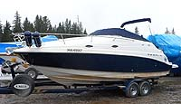 2002 REGAL 2665 COMMODORE for sale in the Lindsay area northeast of Toronto, Ontario, Canada.