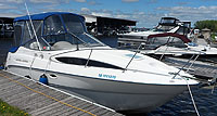 2003 Bayliner 2455 Ciera for sale in the Lindsay area northeast of Toronto, Ontario, Canada.