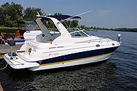 2005 Cruisers Yachts 280 CXI Express for sale in the Peterborough area northeast of Toronto, Ontario, Canada.