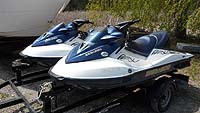 2005 SeaDoo GTX Supercharged PWC for sale in the Lindsay area north east of Toronto, Ontario, Canada.