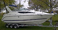 2007 BAYLINER 285 SB for sale in the Lindsay area northeast of Toronto, Ontario, Canada.