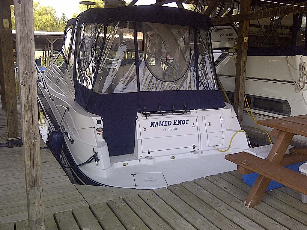 2007 Four Winns 318 Vista for sale in the Lindsay area northeast of Toronto, Ontario, Canada.