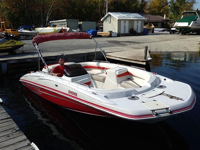 2007 TAHOE 195 DECK BOAT FOR SALE IN THE LINDSAY AREA NORTHEAST OF ...