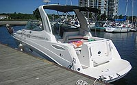 2008 Rinker 260 EC for sale in the Lindsay area northeast of Toronto, Ontario, Canada.