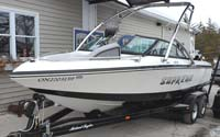 2008 Ski Supreme V212 Wakeboard Boat for sale in the Lindsay area north east of Toronto, Ontario, Canada.