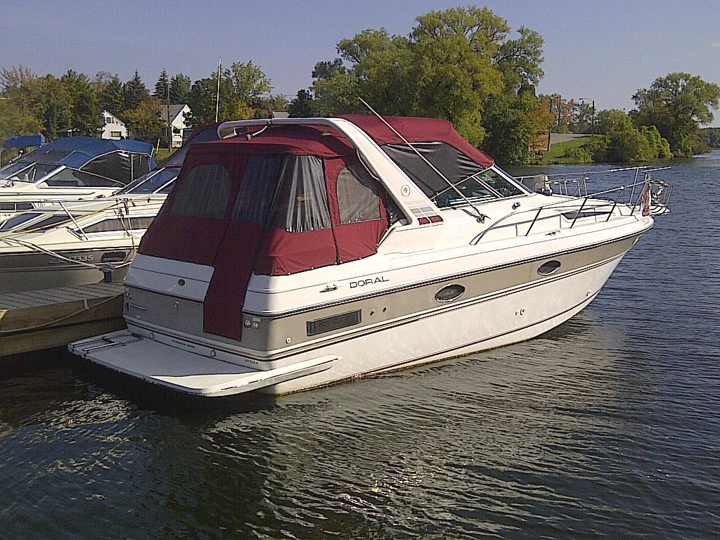1989 Doral Monticello 27 Foot Boat For Sale In