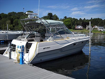 1990 Cruisers 3670 for sale in Lake Champlain about a 5 hour drive east of ...