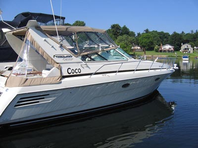 1999 Trojan 400 Express Mid Cabin Cruiser for sale located south east of ...