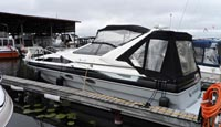 1989 Bayliner 3255 Avanti for sale in the Lindsay area northeast of Toronto, Ontario, Canada by Ontario boat and yacht brokers.