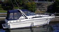1989 Sea Ray 300 Sundancer for sale in the Lindsay area northeast of Toronto, Ontario, Canada.