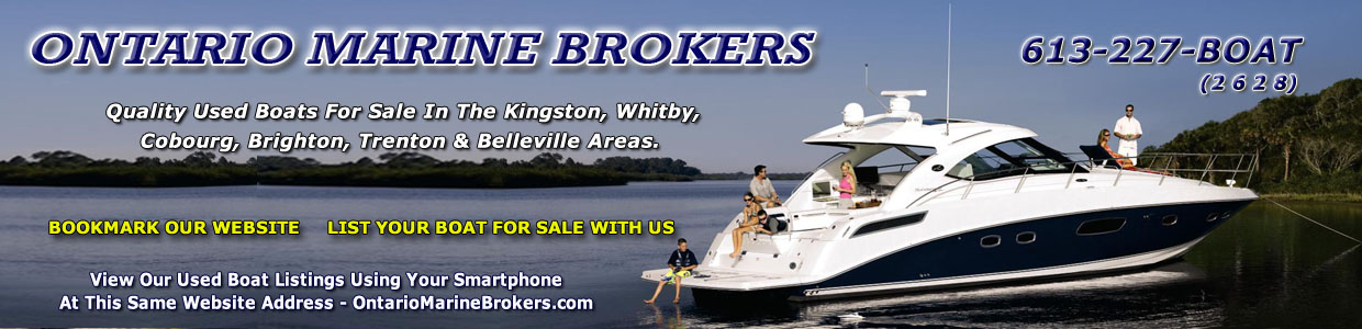 Ontario Marine Brokers - Used Boats For Sale by Sea Ray