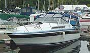 1986 Wellcraft 32 St Tropez sold in the Lake Simcoe area north of Toronto, Ontario, Canada.